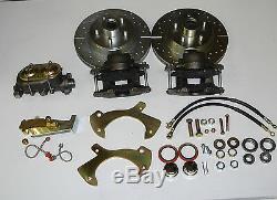 1957-1963 Ford full size front disc brake conversion manual disc brake kit