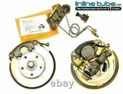 1966 A Body Manual Disc Brake Dual Master Cylinder Conversion Wheel Kit Set