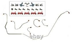 1967 1968 Camaro Manual Disc Brake Conversion Kit 4 Piston & 1 Piece Rotors