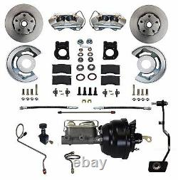 1970 Ford Mustang Cougar Disc Brake Conversion Kit Power manual transmission