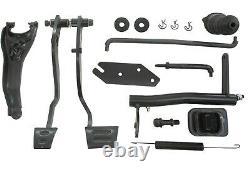 1972-1981 Camaro 4 Speed Pedal Conversion Kit Clutch Pedals Manual Firebird