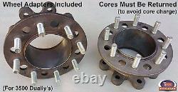 1994-1999 Dodge Ram 3500 (DRW) Manual Locking Hub Conversion Kit