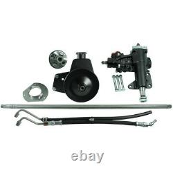 999020 Borgeson New Power Steering Conversion Kit for Ford Mustang 1965-1966