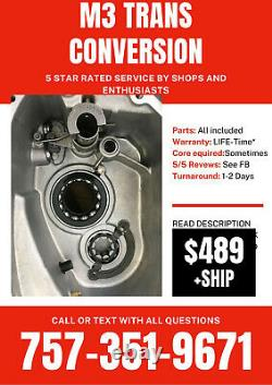 BMW M3 e46 Manual Conversion Transmission Kit Getrag 420g 6 SMG Bellhousing