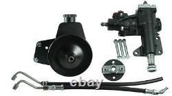 Borgeson 999052 P/S Conversion Kit For Mid-Size Ford cars with Manual Steering
