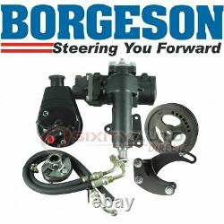 Borgeson Steering to Power Conversion Kit for 1963-1966 Chevrolet Corvette eo