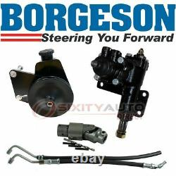 Borgeson Steering to Power Conversion Kit for 1968-1972 Plymouth Road Runner gp