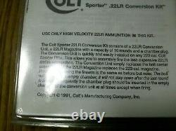 COLT SPORTER rifle conversion kit. 223 to 22LR Complete w manual 10 Rd magazine