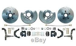 Deluxe Mopar 12 Disc Brakes with Manual to Power Bendix Style Conversion Kit