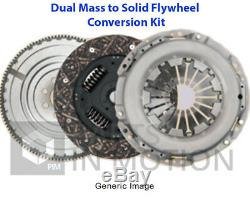 Dual to Solid Flywheel Clutch Conversion Kit fits RENAULT MASTER Mk3 2.3D Manual