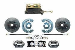 Ford Mustang Disc Brake Conversion with Manual Master Cylinder / Rod Kit 1964-73