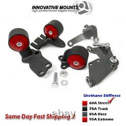 Innovative Conversion Mount Kit 88-91 for Civic / CRX B-Series Manual 49150-60A