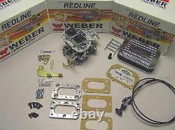 Isuzu Pickup and I-mark 1.8 Genuine Weber Carb Conversion Kit manual choke