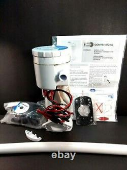 Jabsco 29200-0120 25A 12V Manual Electric Toilet Conversion Kit FOR PARTS ONLY