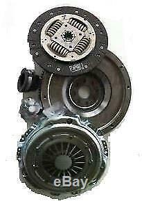 Solid Flywheel Clutch Conversion Kit Fits Bmw 323 E36 2.5 95 To 00 M52b25 Manual