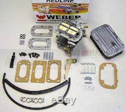 Suzuki Samurai High Performance Weber Carb Conversion Kit 38/38 Manual Choke