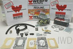 Toyota Pickup 20R 22R Weber Carburetor Conversion Kit Manual Choke K746M Kit
