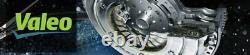 VALEO CLUTCH SOLID FLYWHEEL CONVERSION KIT for 2001-06 HYUNDAI SANTA FE 2.7L V6
