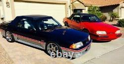 1987-1993 Ford Mustang Asp Manuel De Conversion De Frein Kit Made Etats-unis $ Livraison Gratuite! $