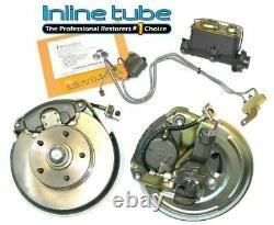 70 Gm A-body Front Manual Disc Brake Conversion Wheel Kit Caliper Rotor Factory
