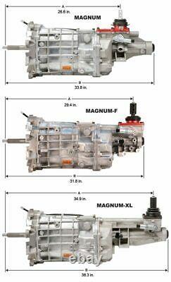 82-02 Camaro / Firebird T56 Magnum 6 Vitesses Manuelle Kit De Conversion Transmission 2.97