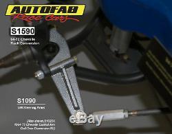 Autofab Racecars Rack Manuel Et Pinion Kit De Conversion 64-72 Corps Gm A