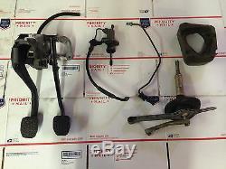 Bmw M3 E46 6 Vitesses Manuelle Conversion Swap Pièces Kit Pédales Shifter Slave Master