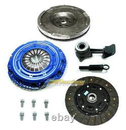 Fx Hd Stage 2 Clutch Flywheel Conversion Kit+slave Cyl Pour 2003-2011 Ford Focus