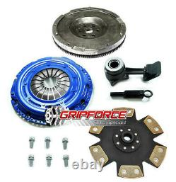 Fx Hd Stage 4 Clutch Flywheel Conversion Kit+slave Cyl Pour 2003-2011 Ford Focus