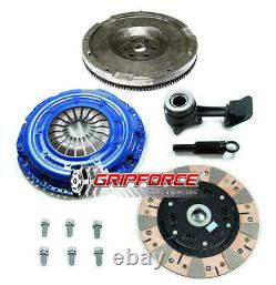 Fx Twin-friction Clutch Flywheel Conversion Kit +slave Convient 2003-2011 Ford Focus