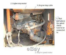 Hitachi Kit De Conversion Pour Ex120-3 Pelle Avec Anglais Manuel D'installation