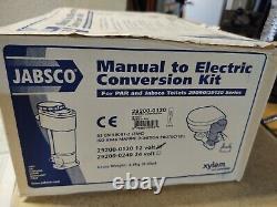 Jabsco 29200-01200 Manuel À Electric Marine Toilet Conversion Kit