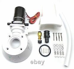 Jabsco 37010-0092 Manuel À Kit De Conversion De Toilettes Électriques 12 Volts