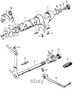Kit D'embrayage Manuel Ou De Conversion Ct70 Crf50 Crf70 Xr50 Xr70 Z50r Z50 Cl70 Xl70