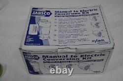 Manuel De Jabsco À Kit De Conversion Électrique