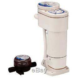 Manuel Jabsco Bateau Marine Rv 12v Toilettes Électrique Kit De Conversion 29200-0120