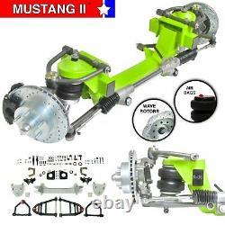 Mustang II Front End Ifs Suspension Kit De Conversion Manuel Lhd Rack Goutte