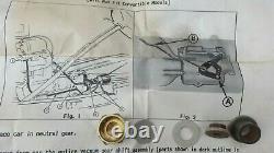 Nos 1939 Chevy Kit De Conversion Mécanique De Changement De Vitesse Pour Le Remplacement Sous Vide