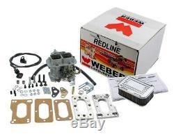 Pour Toyota 20r 22r Weber 32/36 Dgev Manuel Carburateur Kit De Conversion Choke