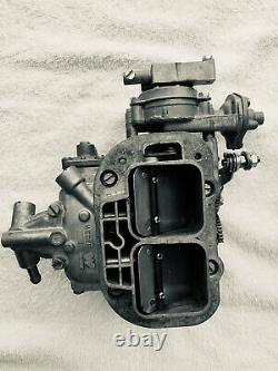 Véritable Weber 38/38 Kit De Conversion De Carbure Avec Amortisseur Manuel S'adapte Mg Mgb 1962-1980