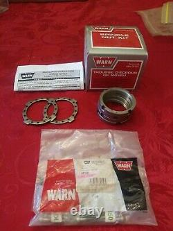 Warn #32721 Nos Spindle Nut Conversion Kit Open Box Instruc & Hardware Kit 35150