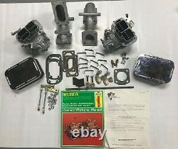 Weber 32/36 Dgv Carb Conversion Kit- Triumph Tr2, Tr3, Tr3b, Tr4, Avec Manuel